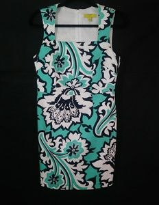 Banana Republic Blue & White Dress Size 8P